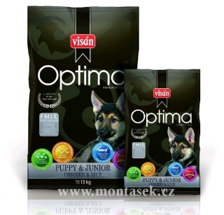 optima puppy chicken & rice 3kg