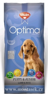 optima junior lamb & rice 3kg